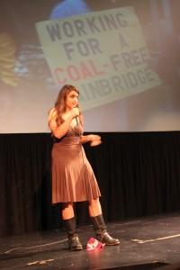 Chiara Patricio at Ignite Bainbridge 2